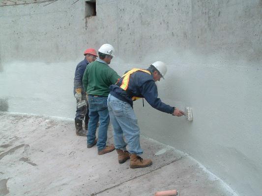 chống thấm tường ngoài trời