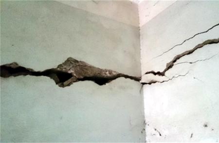 xử lý nhà cấp 4 bị nứt tường