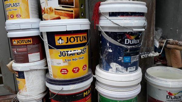 1 thùng sơn bao nhiêu tiền