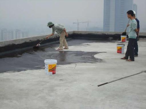 chống thấm sàn mái bằng chất chống thấm