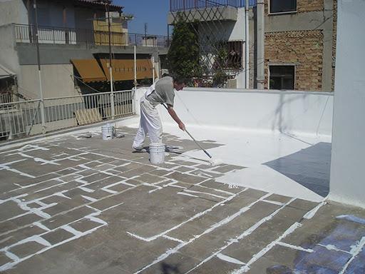 chống thấm sân thượng bằng composite