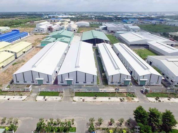 mái nhà công nghiệp