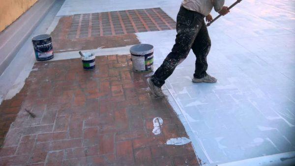 chống thấm sàn mái bằng polyrethou