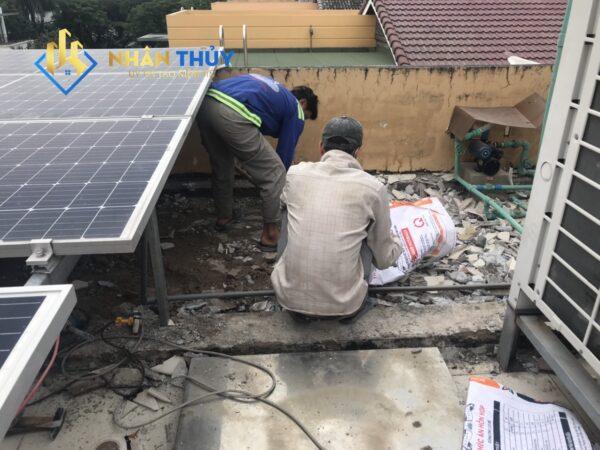 quy trình chống thấm sân thượng