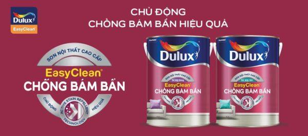 Sơn Dulux Easy Clean Chống bám bẩn
