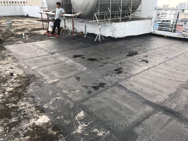 chống thấm sàn mái sân thượng bình dương