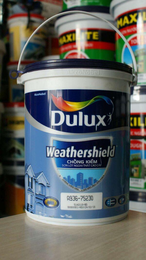 sơn lót kháng kiềm dulux ngoài trời