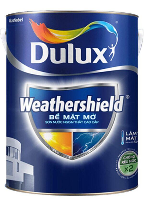 sơn nước dulux weathershield