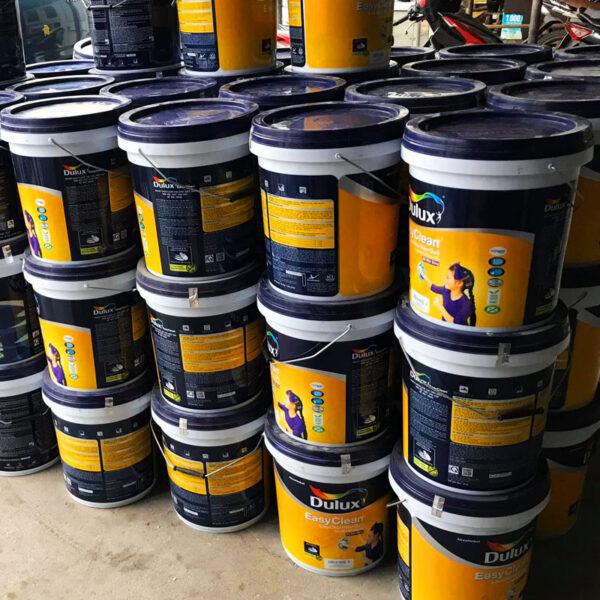 thùng sơn dulux 18l