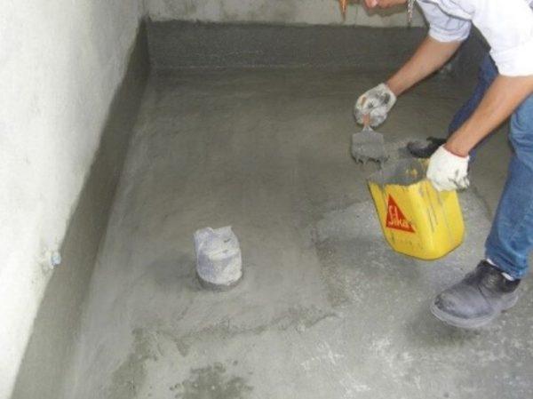 chống thấm sika nhà vệ sinh