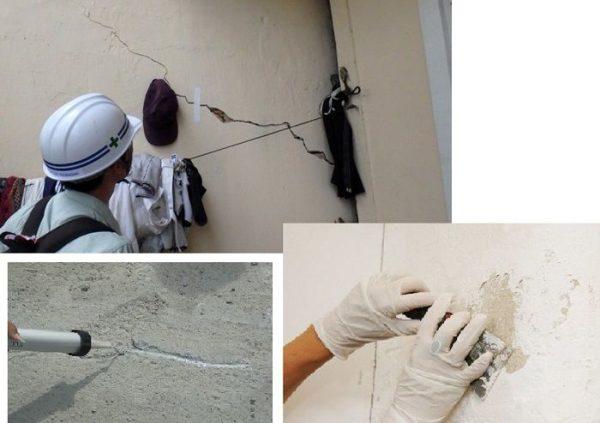sika xử lý tường nứt