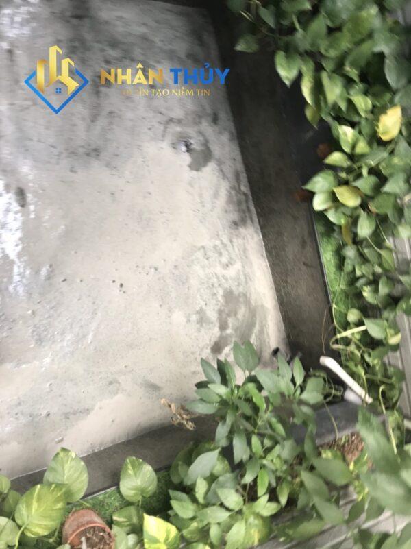 chống thấm bể cá koi