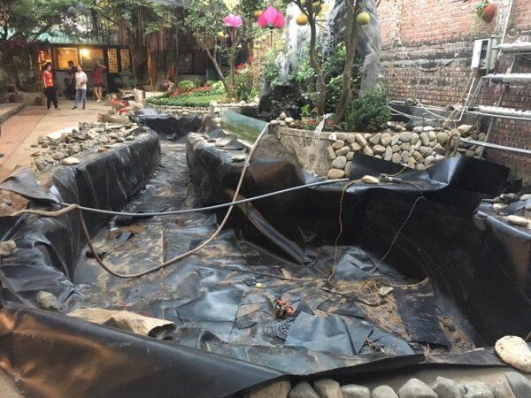chống thấm bể cá long an
