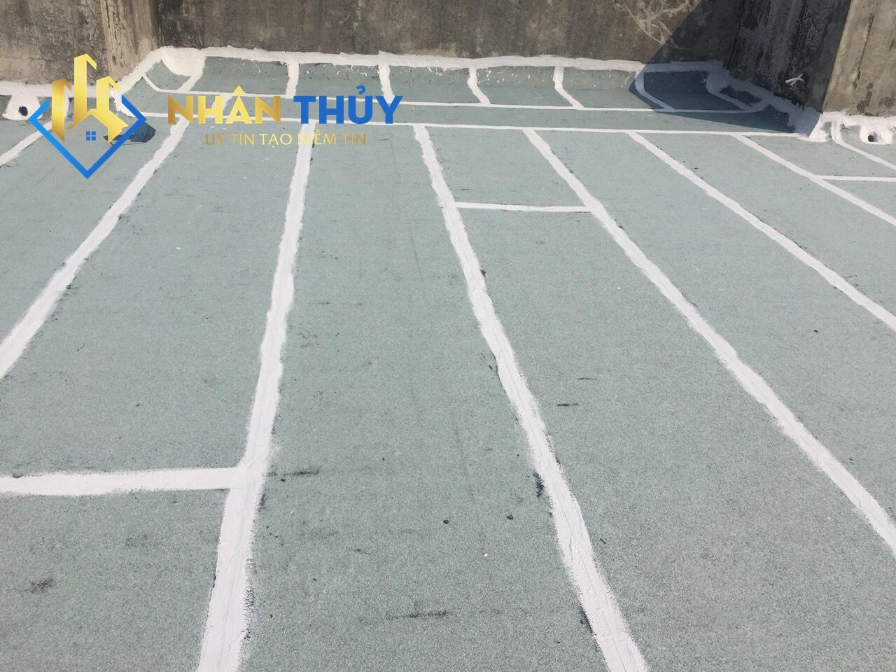 chống thấm sân thượng bằng epoxy