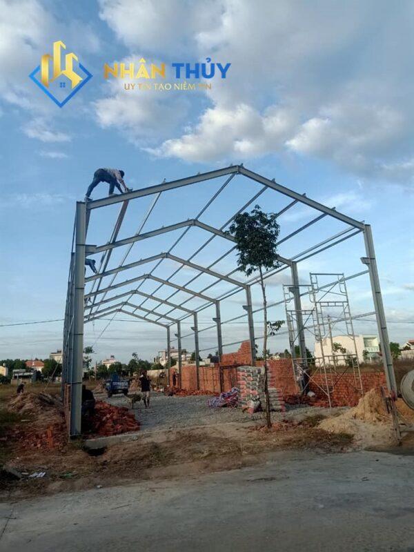dựng mái tôn nhà xưởng
