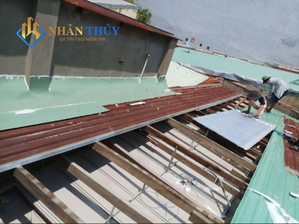 thợ làm mái tôn tại quận 12