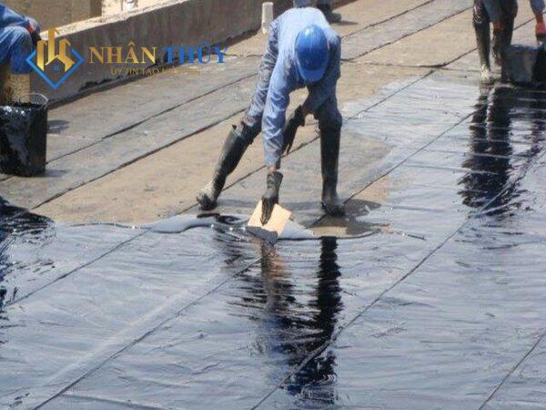 cách chống thấm sàn mái bằng nhựa đường