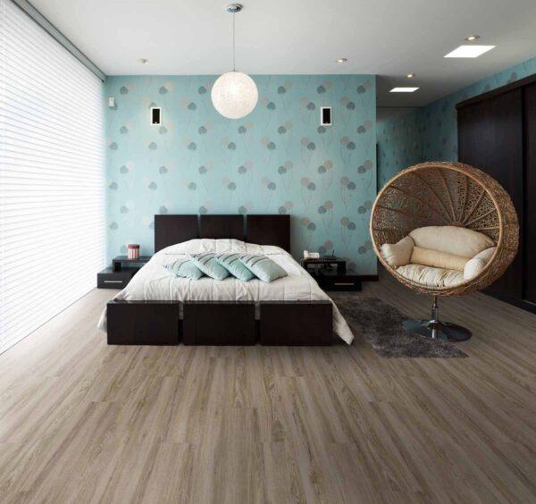 sàn nhựa giả gỗ phồng ngủ
