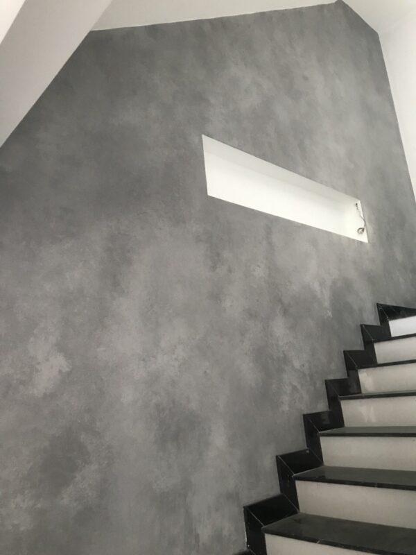 sơn giả bê tông cầu thang