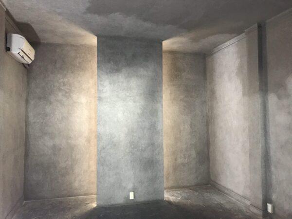thợ sơn hiệu ứng bê tông tại quận 1