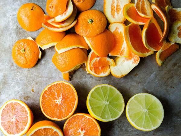 chống hôi bằng vỏ chanh cam