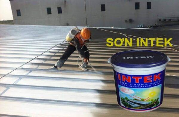 sơn chống nóng intex