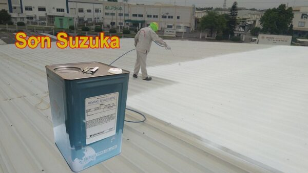 Sơn chống nóng mái tôn Suzuka
