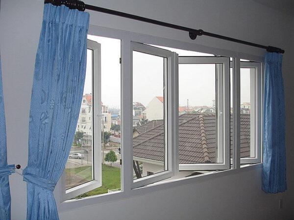 chống nóng tường bằng rèm