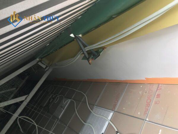 công trình chống dột mái tôn quận 2