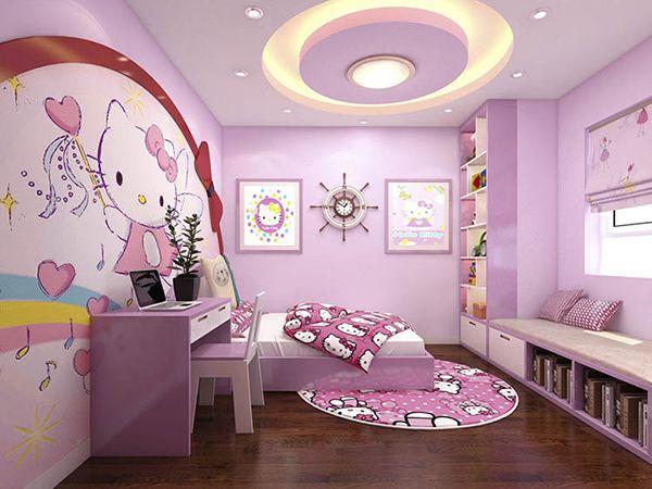 trần phòng ngủ trẻ em