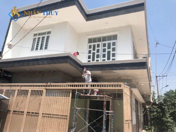 sơn nhà tại hòa bình tân phú