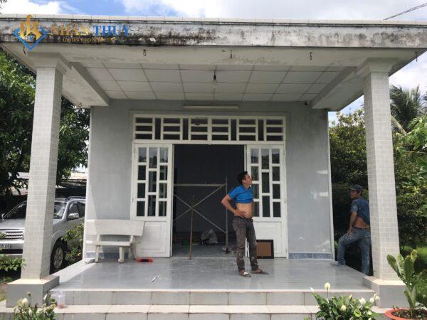 sơn nhà tại huyện củ chi