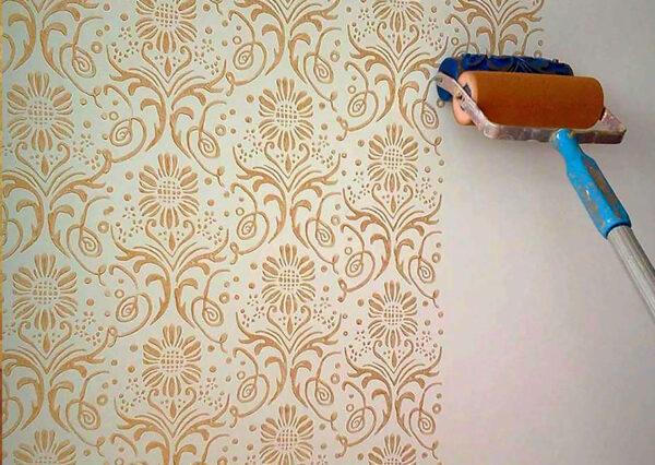 sơn tường hoa văn là gì