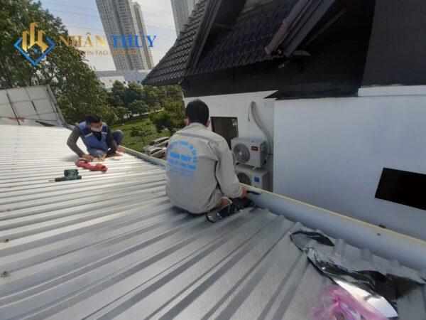 sửa mái tôn dột nước