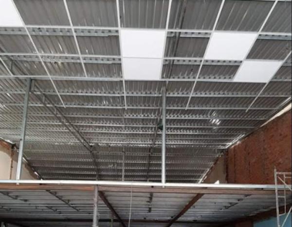 thạch cao chống nóng mái tôn