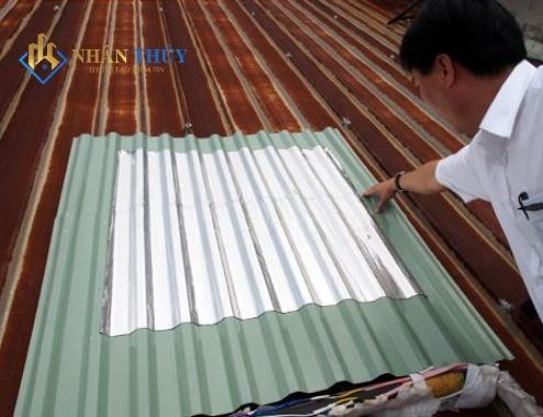 tấm trãi chống dột mái tôn