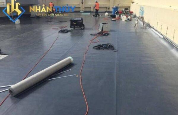 thi công chống thấm sân thượng bằng nhựa đường bitum cuộn