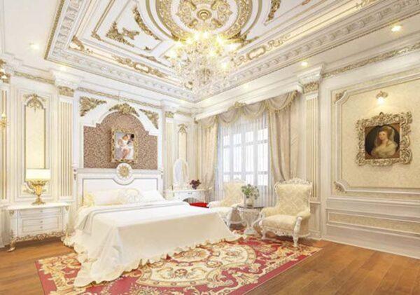 mẫu trần thạch cao phòng ngủ đẹp
