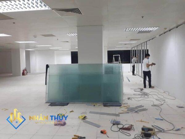 vách ngăn phòng thạch cao văn phòng bình dương