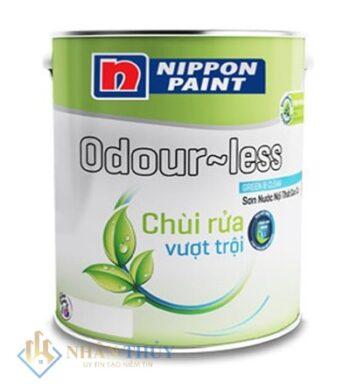 sơn Nippon Odourless chùi rửa vượt trội