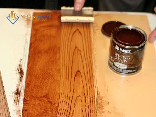 báo giá thi công sơn gỗ