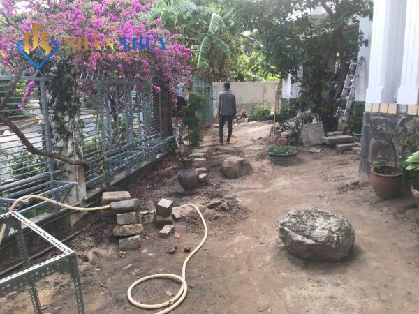 cải tạo sân vườn quận 2