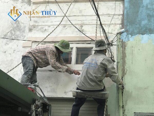 nhân công sơn nhà tphcm