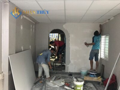 thợ sơn nhà tại củ chi