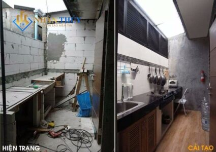 sửa chữa nhà bếp tại tphcm