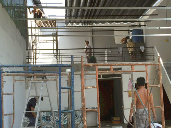 sửa chữa nhà cấp 4 thành 2 tầng