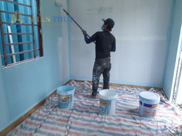 thuê thợ sơn nhà tphcm