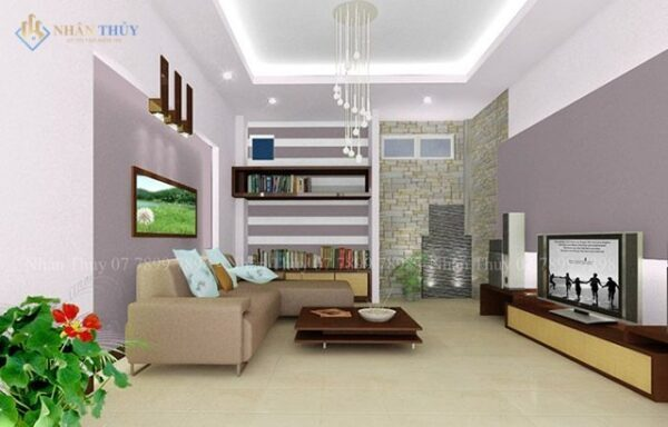 màu sơn phòng khách hiện đại