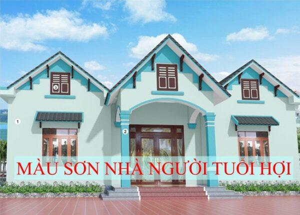 sơn nhà cho tuổi hợi